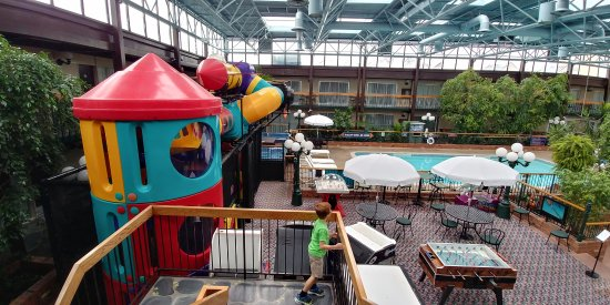 Best Western Plus Cairn Croft Hotel Courtyard Area With Playground Pool 2 Hut