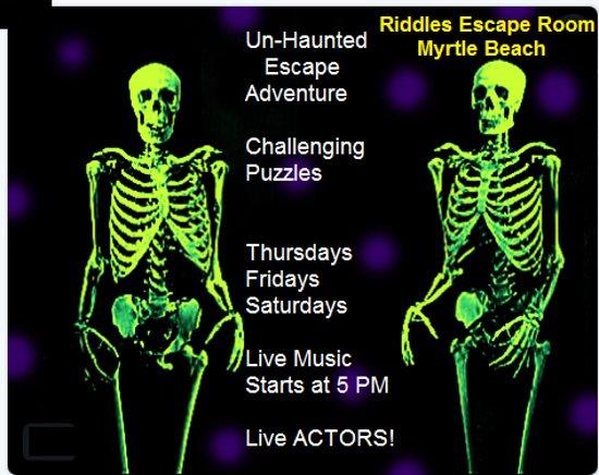 Comedy Un Haunted Escape Picture Of Riddles Escape Room