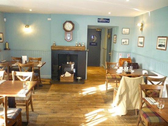 Elie, UK: Inside the restaurant