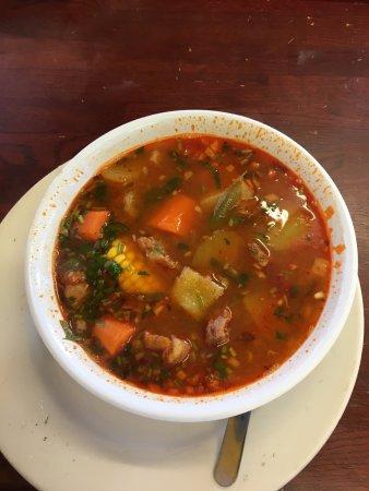 Forest Park, GA: Caldo de Res or Pozole, Beef Soup.