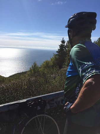 Black Point, Canadá: Along the Cabot Trail - top of Smokey Mountain