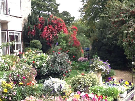 Charlbury, UK: Garden in front of a house.