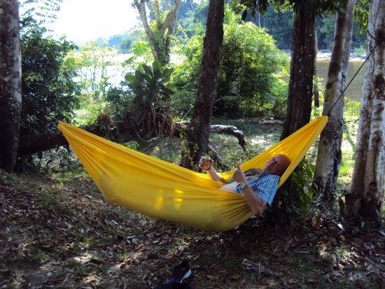 Palumeu, Surinam : REPOS BIEN MERITE