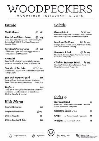 Subiaco, Australia: Entree and Salads