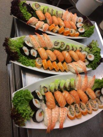 Esbjerg Municipality, Danemark : sushi