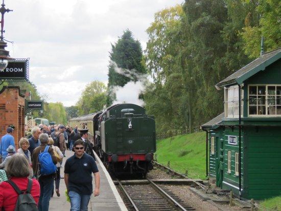 Loughborough, UK: typical station scene