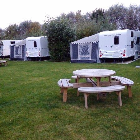 Aldeburgh, UK: Campsite