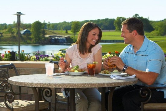 Prior Lake, MN: Score the best seat in the house on our patio overlooking our championship golf course.