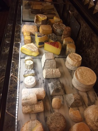 De L'Europe Amsterdam: Dutch cheese selection
