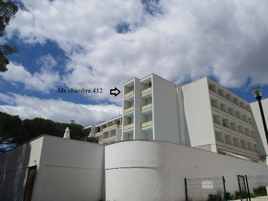 Ma chambre 412 avec vue sur mer picture of hotel adria for Chambre avec vue