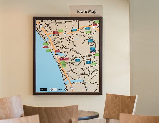 Vista, Kaliforniya: TowneMap