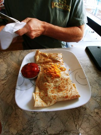 Crepe Creation Cafe: Western Morning Crepe