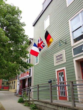 The Burlington Hostel : Building Facade