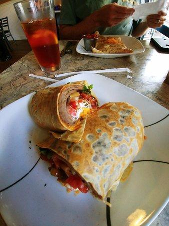 Crepe Creation Cafe: Taco Crepe