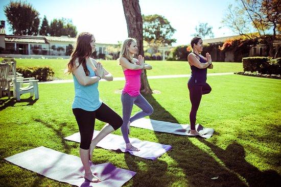 The Spa at The Inn: Rancho Santa Fe, CA Yoga