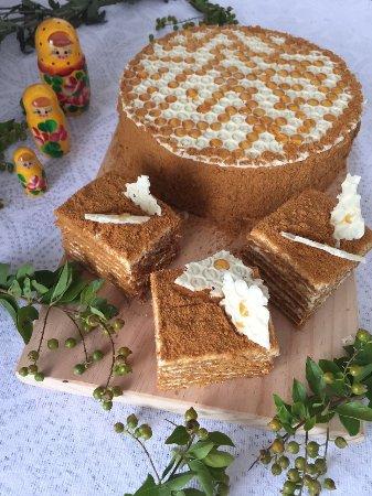 Honey Cake Picture Of Russian Bakery Colombo Tripadvisor