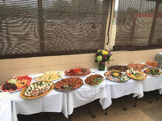 Trellis Restaurant: Private Party Platter Food