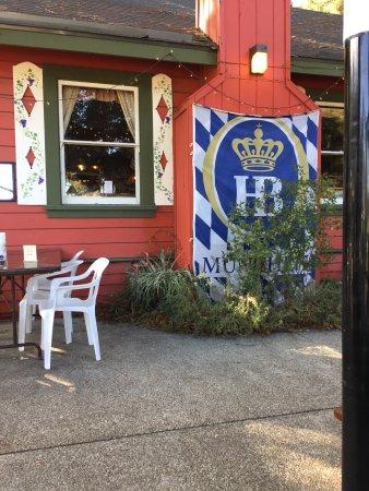 Ben Lomond, Καλιφόρνια: Outdoor seating