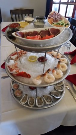 Litchfield, CT: Like Raw Bar?  Order Our Seafood Tower on Your Next Stop!