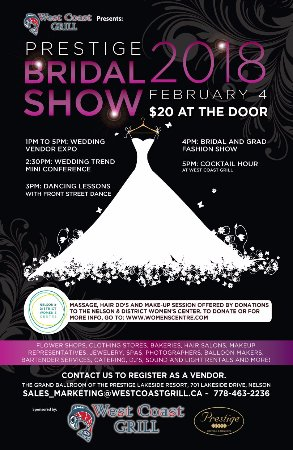 Nelson, Canada: Bridal Show 2018