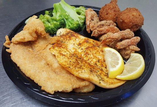Rome, GA: Fish & Shrimp Combo