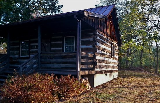 Millboro, VA: Walatoola Cabin at Sunrise
