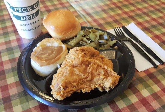 Rome, GA: Fried Chicken