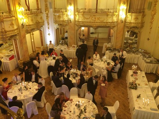 The ceremony arragements picture of grand hotel bohemia for Grand hotel bohemia prague reviews