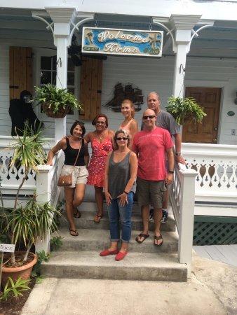 Key West Harbor Inn: Group photo from Key West