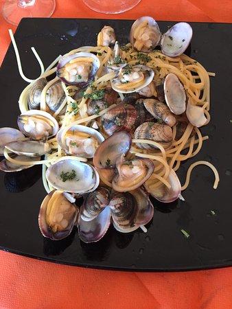 Bagno Roselle, Italia: Spaghetti alle vongole