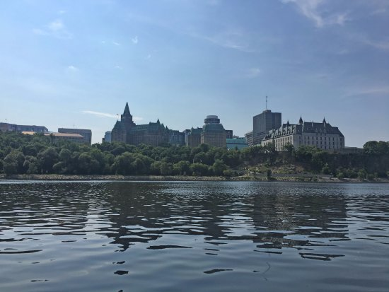 iver view of Ottawa downtown first building at right The Supreme Court.