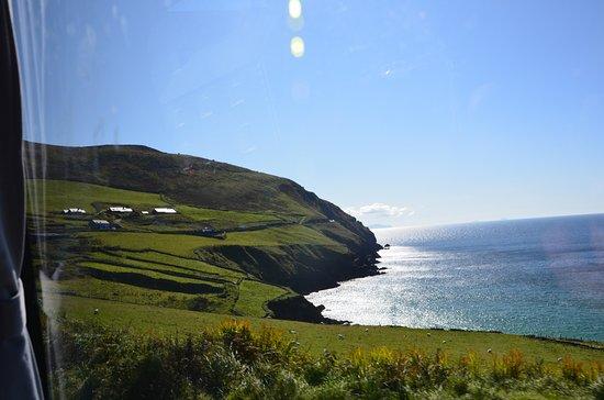 Clifden, Ireland: Blick aus dem Fahrzeug