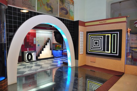 Birla Industrial & Technological Museum: mathematical Puzzle