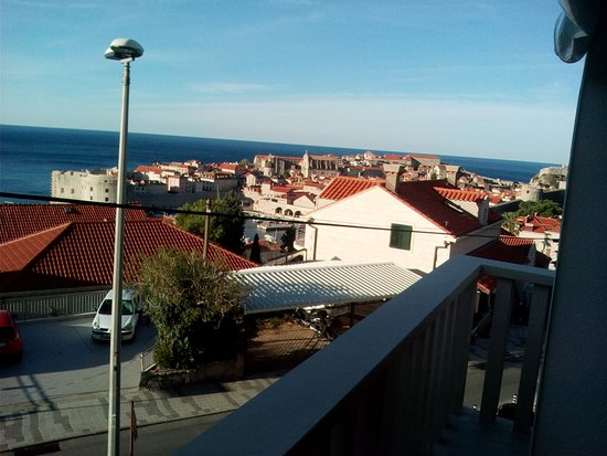 Ploce, Croatia: View from the terrace