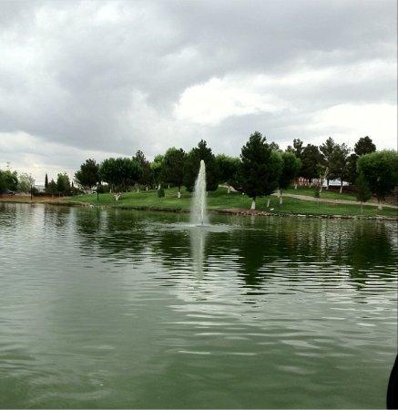 Ciudad Juárez, México: Fountain