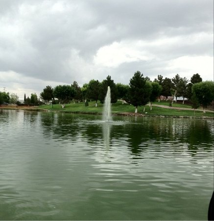 Ciudad Juarez, Meksiko: Fountain
