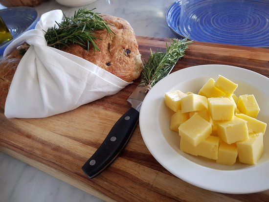 Prince Albert, South Africa: The wonderful fresh home baked bread