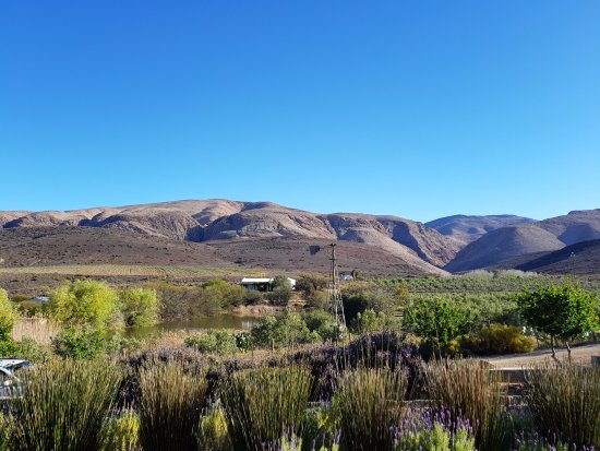 Prince Albert, South Africa: The magnificent view from outside
