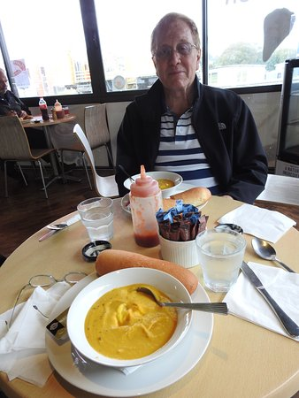 Wellsford, New Zealand: pumpkin soup