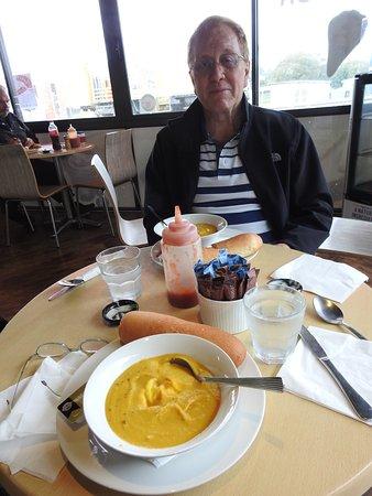 Wellsford, Nueva Zelanda: pumpkin soup