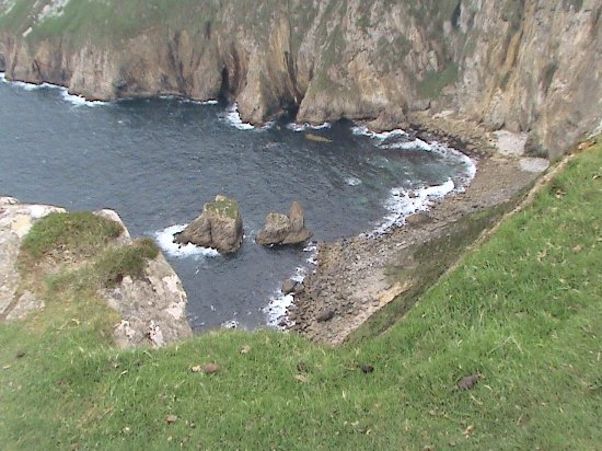 Killybegs, Ierland: Bay at Slieve League Cliffs