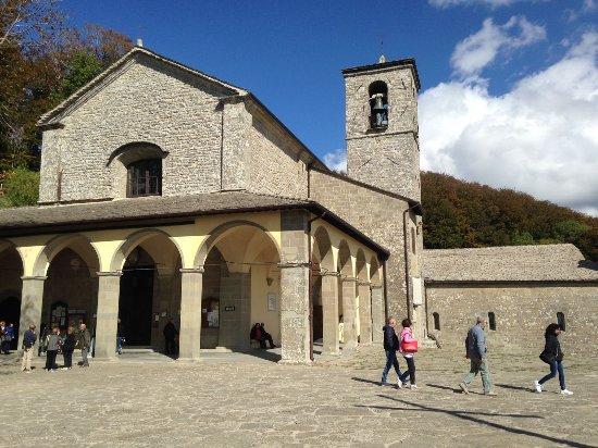 Chiusi della Verna, Italia: Nel giorno di San Francesco!