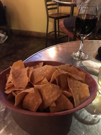 Socorro, NM: my chips and wine