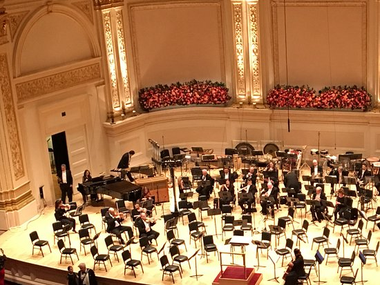 Carnegie Hall: Where are the penguins ?