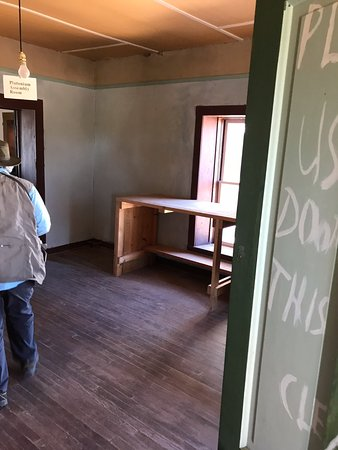 San Antonio, NM: room where bomb was put together