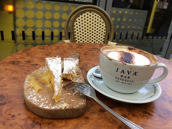 Victoria Station: LOVELY lemon cake & great coffee from genuinely friendly staff.
