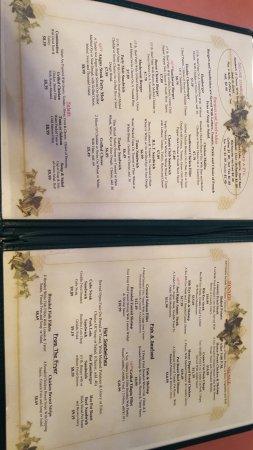 Beaver, UT: menu
