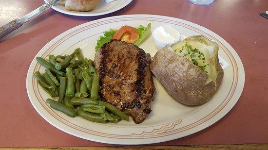 Beaver, UT: steak - was good