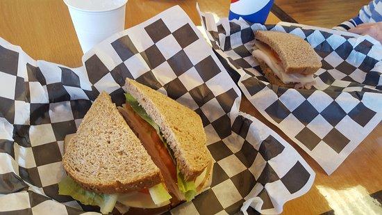 Great Harvest Bread Company: Turkey sandwich