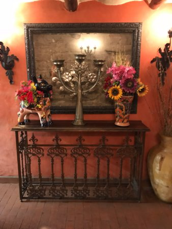 Mesilla, Nuevo Mexico: lobby area